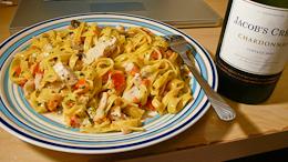 pasta配酒