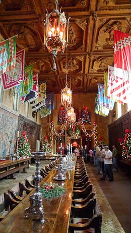 Xmas 09 Hearst Castle