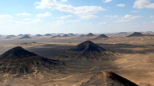 黑沙漠的黑山们