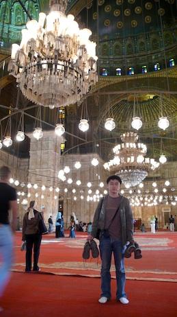 清真寺脱鞋