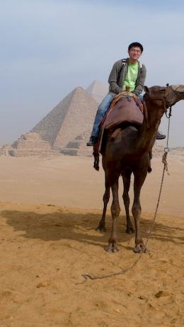 骆驼金字塔