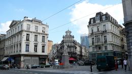 布鲁塞尔街头