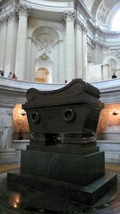 The sarcophagus of Napoleon Bonaparte